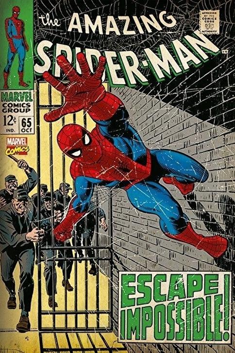 Pyramid International Maxi Poster Marvel Spider-Man- Escape Impossible Renkli